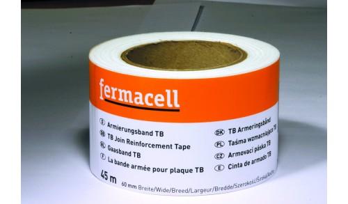 Fermacell - Bande autocollante pour bords amincis, 60mm - 45 m
