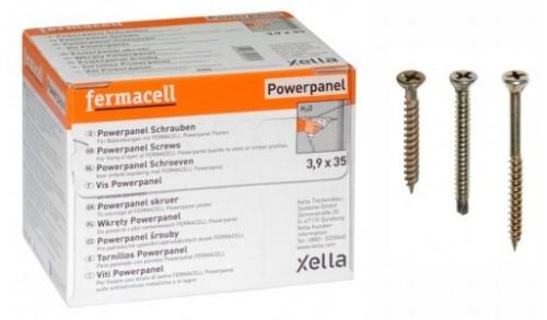Fermacell - Boite de 500 vis 3,5x23mm (plaques de sol)