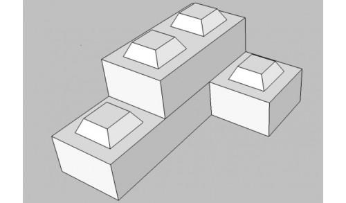 Lebailly - Lygo brique réfractaire 22 x 11 x 6cm