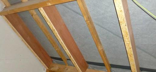 DAMMRAUM - Extension de chevron plafonds (mct)