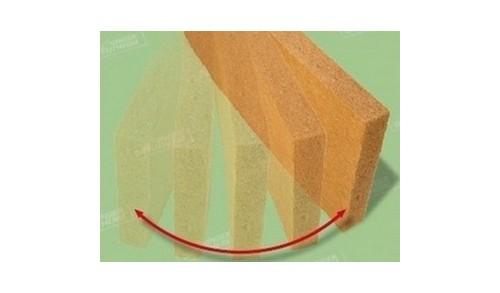 UNGER-DIFFUTHERM - Panneau souple laine de bois UdiFlex (135x57,5 cm)