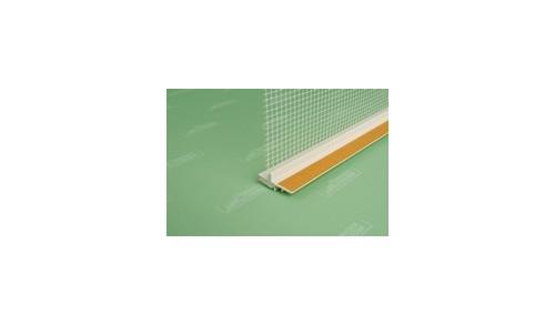UNGER-DIFFUTHERM - Baguette d'arrêt d'enduit ext. 18mm, longueur 2,4m
