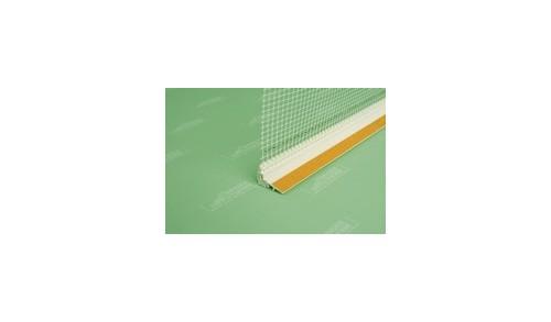 UNGER-DIFFUTHERM - Baguette d'arrêt d'enduit ext. 9mm, longueur 2,4m