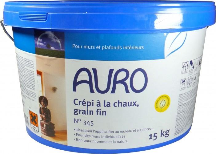 Crépi à la chaux, grain fin Auro 345