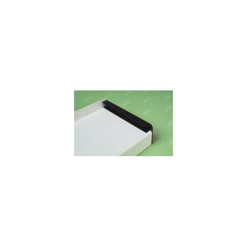 UNGER-DIFFUTHERM - Pièce latérale sous enduit pour tablette Udi ALU profil U