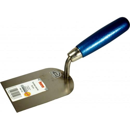 Truelle stucateur en acier inoxydable, largeur, 8 cm