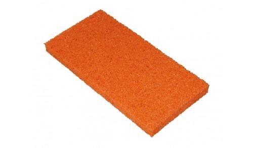 Prof-Praxis - Caoutchouc spongieux orange 280 x 140 x 20 mm