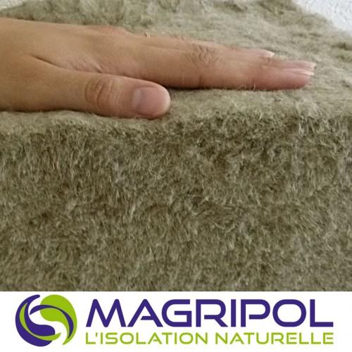 Magripol - PANNEAU laine de lin et jute STANDARD ( 125 x 60 cm)