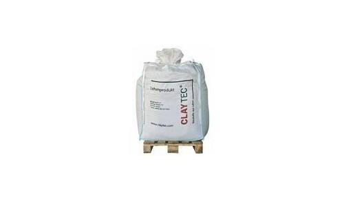 Claytec - Argile sèche, en granulés (big bag)