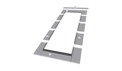 FAKRO - Raccordement Matériaux plats ELV