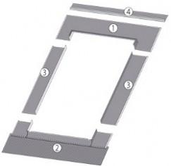 FAKRO - Raccordement Couvertures métalliques EBV-P