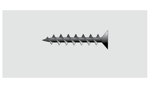 SINIAT - Vis à pointe filetée pour plaques de plâtres ULTRA TF 212