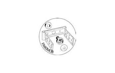 Acoustix - Accessoire PANTERRE fixation antivibratoire FA60 (60mm)