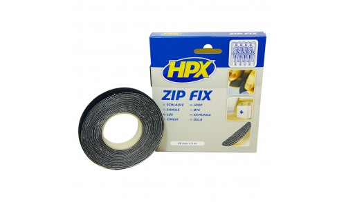 HPX - Ruban anti agrippant zip fix 20mm x 5m