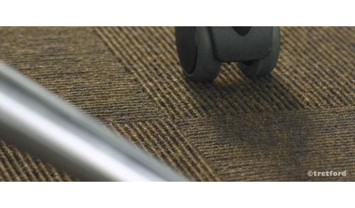 Tretford Plus 7: tapis pour l'espace de travail approprié aux sièges à roulettes et escaliers (poils de chèvre Cachemire & laine
