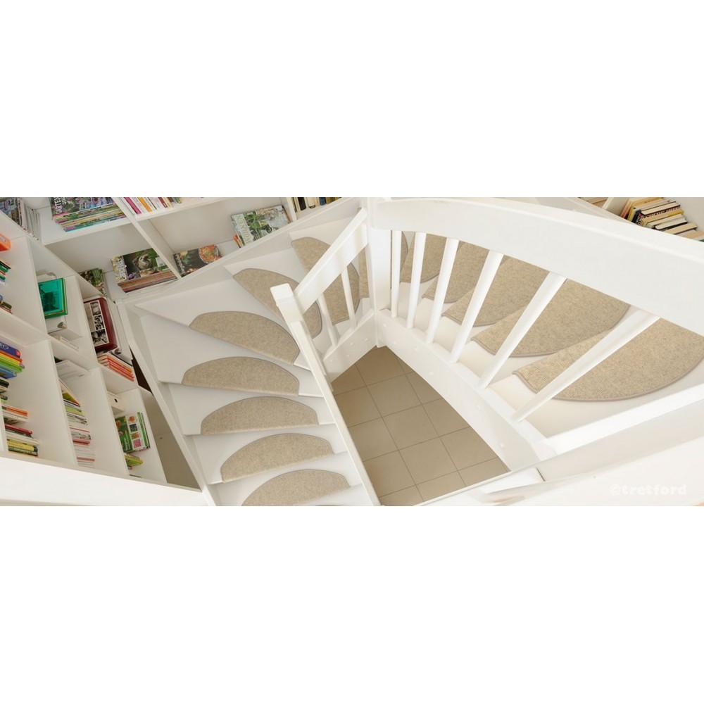 outlet store 70179 70a9a Tretford - Tapis Plus de marche d'escalier (poils de chèvre ...