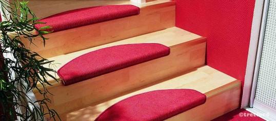Tretford - Tapis Plus de marche d'escalier (poils de chèvre Cachemire & laine vierge)