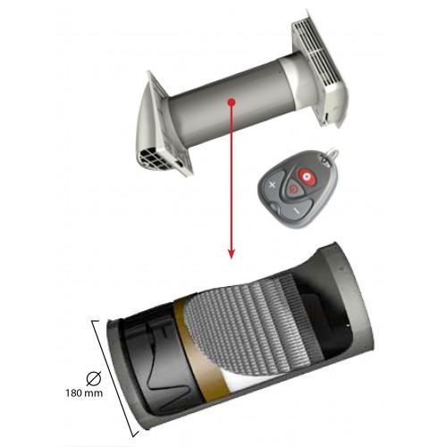 Nicoll - Extracteur avec récupérateur de chaleur