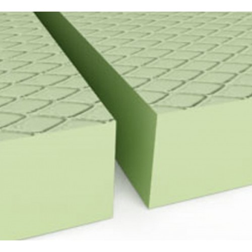 Styrodur 2800 C - Panneau polystyrène bord droit Gauffré 1,25 x 0,60m