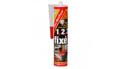SIKA - Sika MaxTack Ultra Colle de montage 290ml