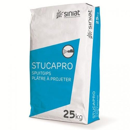 Lot de 70 Plâtre Naturel Siniat STUCAPRO (vendu par sac de 25 kg)