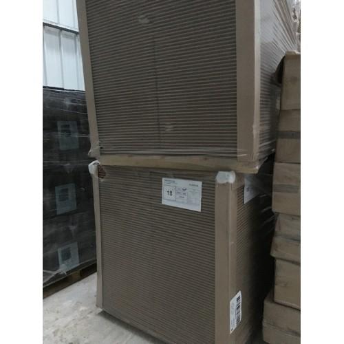 Unilin FiberTech TOP - Sous toiture / Sous bardage en fibre de bois 18mm (2500x600)