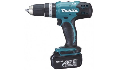 MAKITA - Visseuse-perceuse a percussion 18V 42Nm 2x BL1830 + 1x DC18RC Makpac