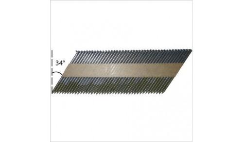 ALSAFIX - Pack 90 - 2,8 x 50 annelée INOX + 2 cartouches de gaz