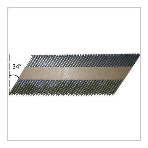 ALSAFIX - Pack 90 - 3,1 x 63 lisses + 2 cartouches de gaz