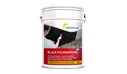Aquaplan - Black foundations 20L