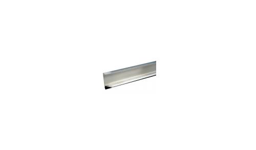 Aquaplan - Profil de rive 60x45mm 2m