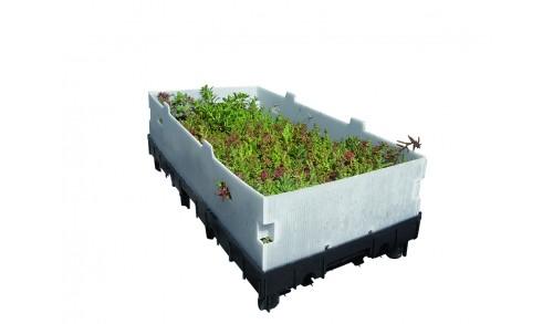 Toundra Box Soprema : Toiture végétale en bacs