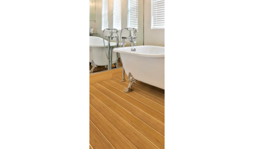 BAMBOOTOUCH - Parquet en bambou Vertical Navy Tradition - Collection Classic - 15x96x1920 - Verni