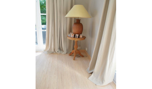 BAMBOOTOUCH - Parquet en bambou BAMWOOD Color Alaska - Collection Design - 14x142x1850 - Huilé