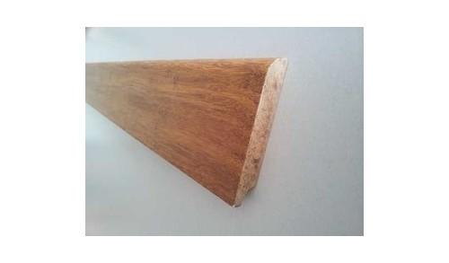 BAMBOOTOUCH - BamWood vernis - Plinthe basse - 15x50x1860 - Caramel
