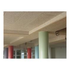 FIBRALITH CLARTE : panneau minéral BLANC fibre de bois