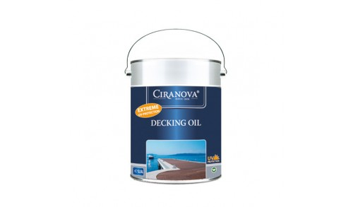 CIRANOVA - Decking oil clear 7630 (2,5 L)