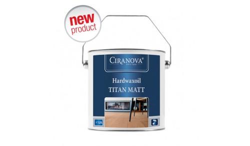 CIRANOVA - Hardwaxoil Titan Matt 2,5 L