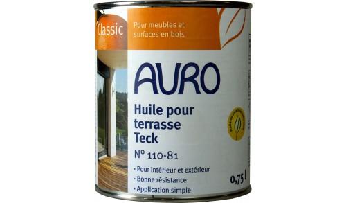 Huile pour terrasse, couleur Teak 110-81 2,5L