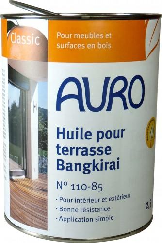 Huile pour terrasse, couleur Bangkiraï 110-85 0,75L