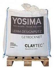 Claytec - Enduit d'argile YOSIMA Rouge Indien