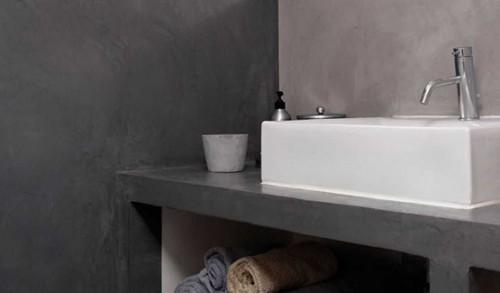 Enduits pour salle de bains