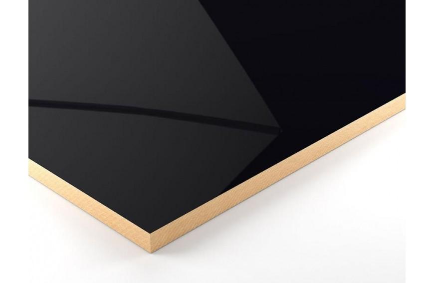panneau en fibre de bois mdf noir hydrofuge. Black Bedroom Furniture Sets. Home Design Ideas